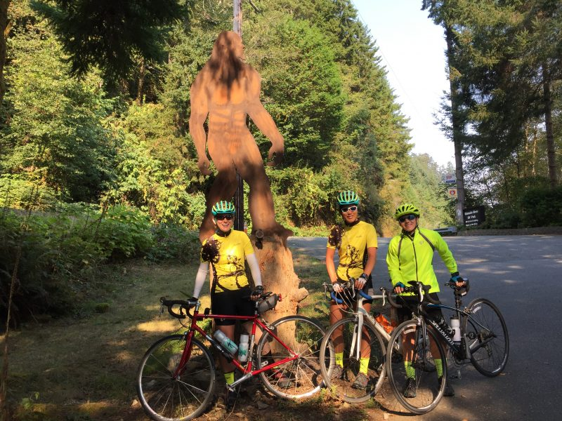 Team Forrest Stump in Klamath