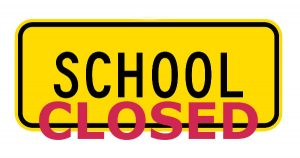 Image result for images of school is closed