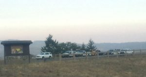 Convoy on Vista Point at Berry Summit