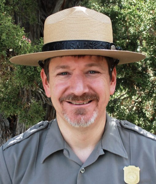 Steven Mietz superintendent of Redwood National & State Parks.