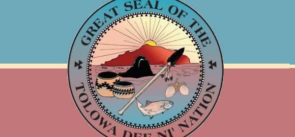 Tolowa Dee-ni' Nation logo