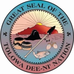 Tolowa Dee-ni' Nation logo