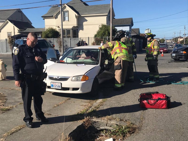 traffic accident in Eureka