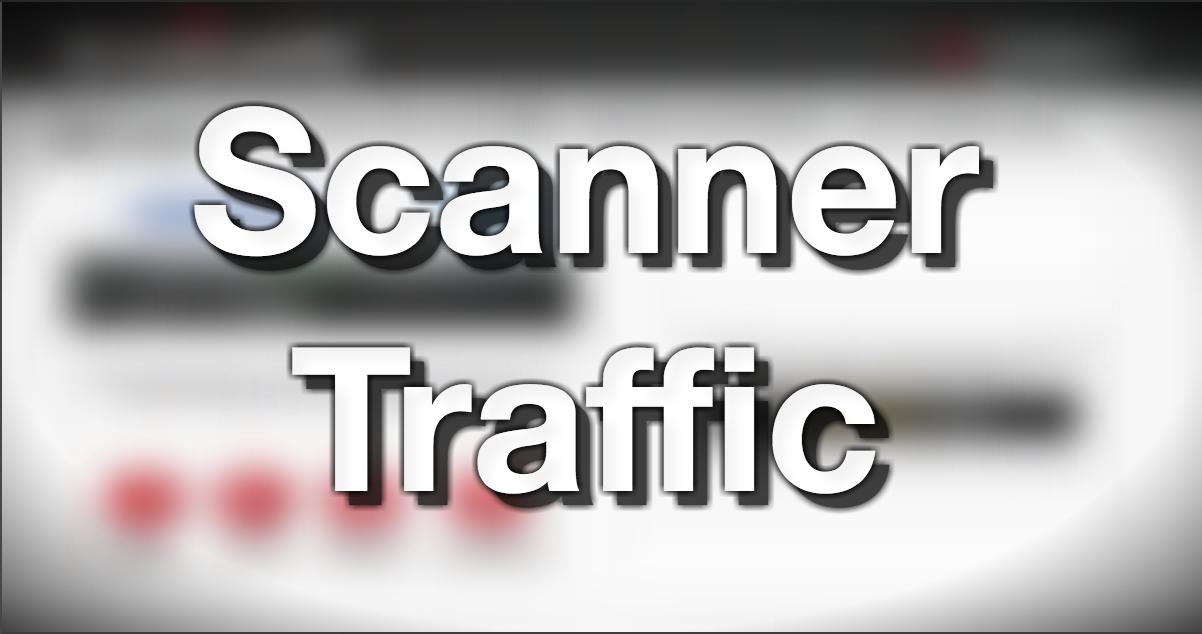 Scanner traffic