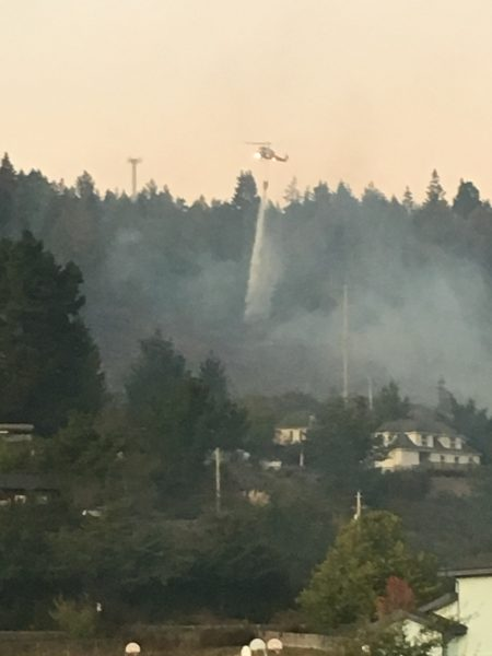 Update Monday Vegetation Fire Forces Evacuations Near