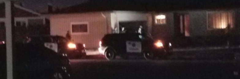Tonight, law enforcement surrounded a home in Arcata
