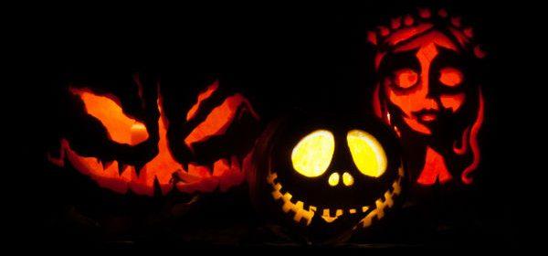 Jack-o-lanterns, Fall, Halloween