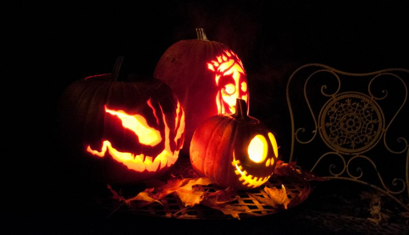 Jack-o-lanterns, Fall, Halloween