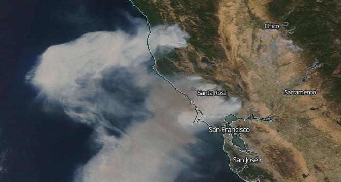 Oct 9 smoke map EODIS