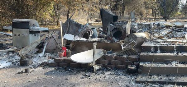 Redwood Valley Fire aftermatih