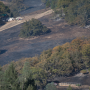 River fire burned out area