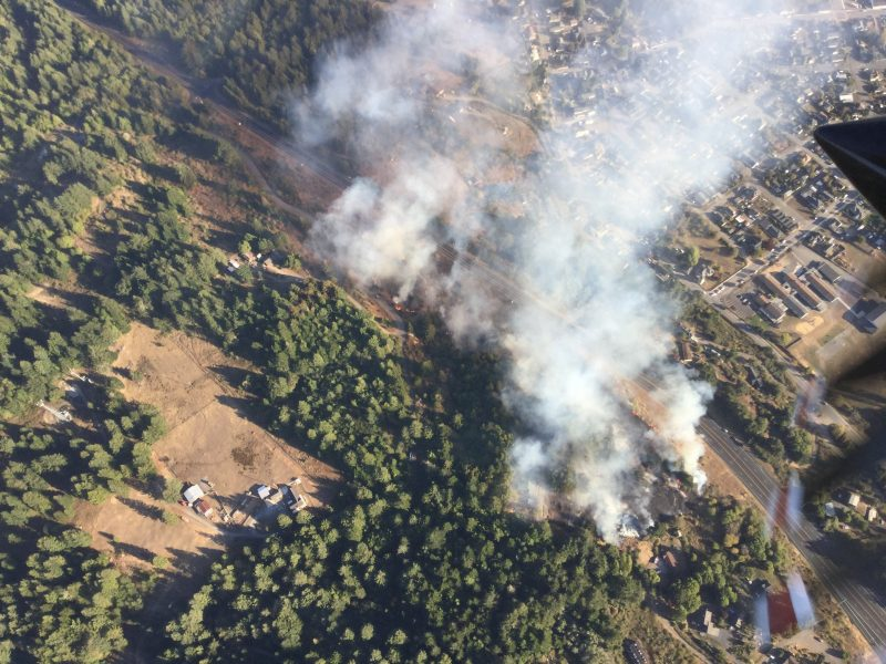 Cal Fire photo from the air.