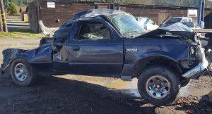 Ford ranger rollover