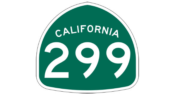 Hwy 299 California State Route
