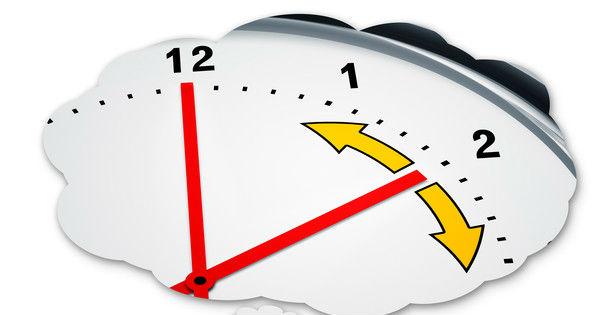 Fall back time Daylight Saving