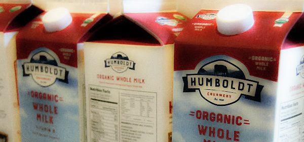 Humboldt Creamery milk organic