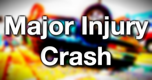 Major injury Crash traffic accident crash