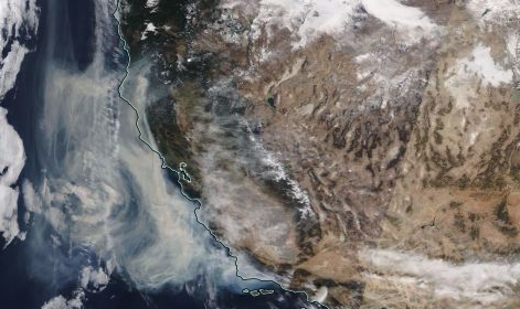 smoke from soCal affecting northern California