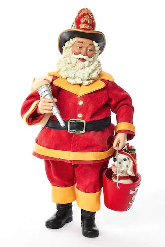 Kohl's Santa Figurine