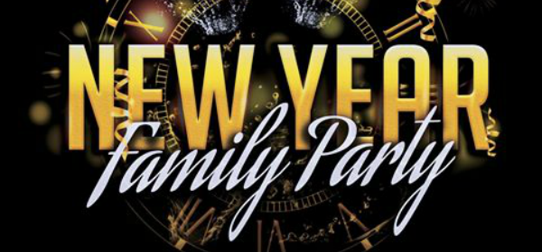 New Year Family Party poster