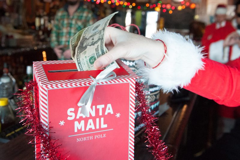 SantaCon is an international fundraiser pub crawl started in San Francisco in 1994. The Eureka SantaCon is raising money for Food For People.