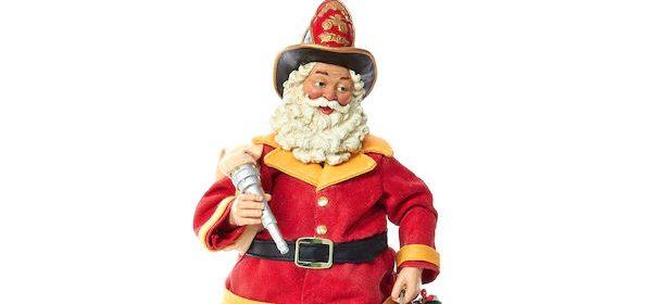 Santa Firefighter