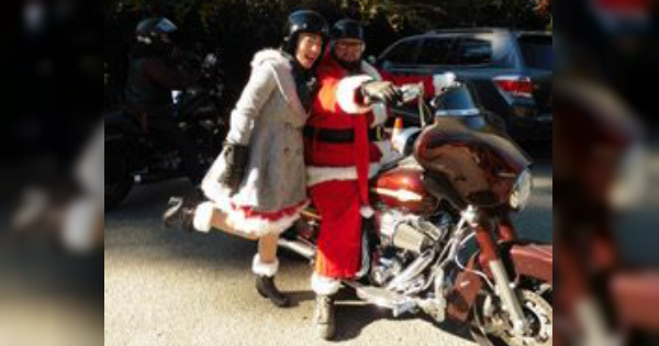 Bikers Toys For Tots : Bikers ride through sohum for kiwanis of the redwoods