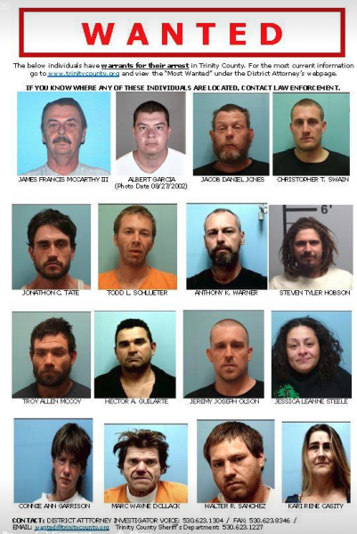 Trinity CO most wanted