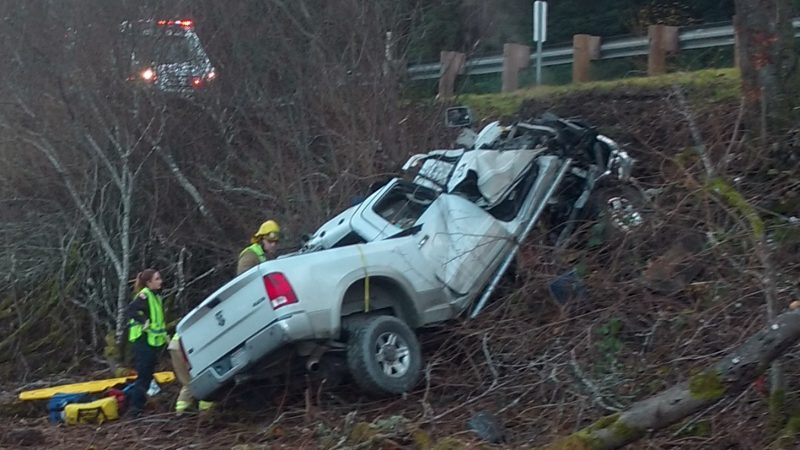 Impaired Driving Considered Factor in Yesterday's Major Injury Accident Near Miranda, Says CHP ...