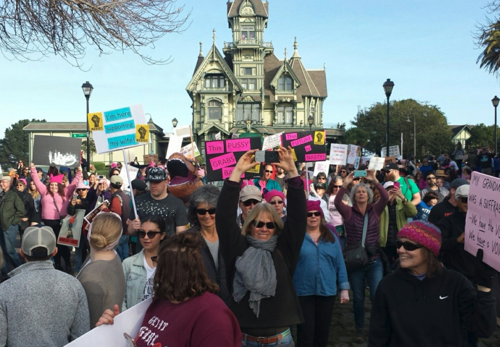 women's march 2018 Eureka California
