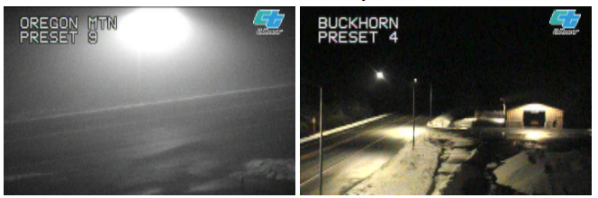 Caltrans traffic cam oregon and buckhorn