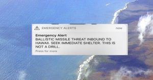 Hawaii alert threat ballistic