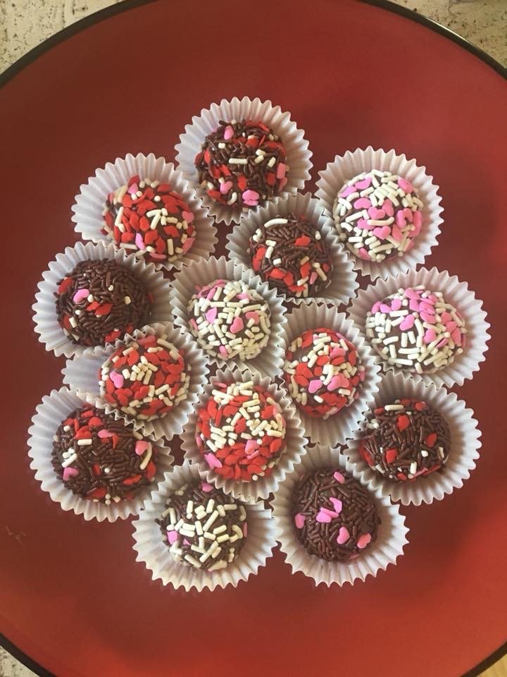 Fancy Truffles are available along with other delicious items.
