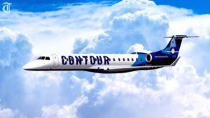 Contour Airlines plane