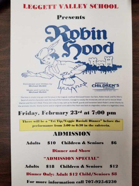 Robin hood play poster
