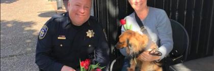 Eureka Police Chief Steve Watson Operation smile