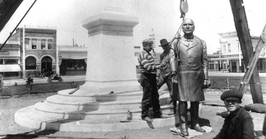 McKinley Statue Arcata