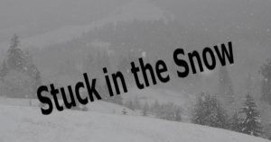 Stuck in the snow