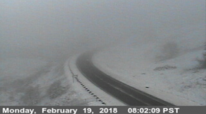 Snow on Berry Summit