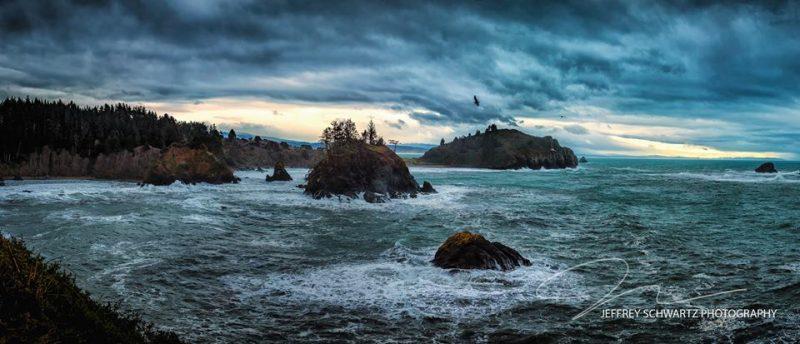Stormy day Trinidad Ocean