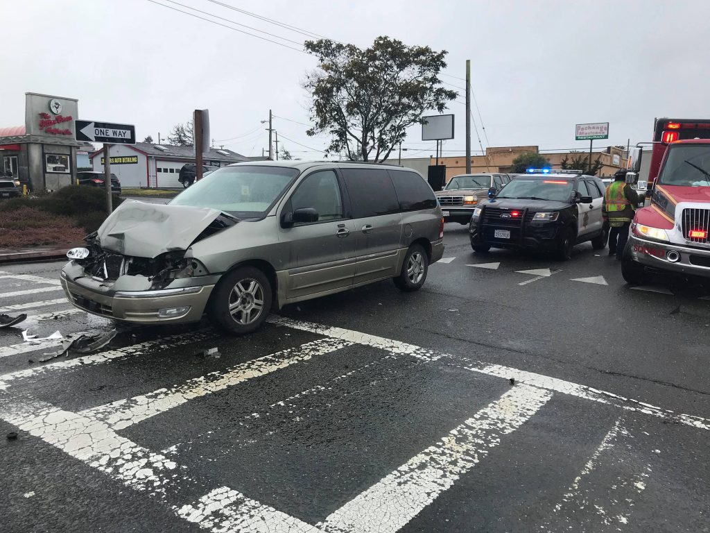 Accident in Eureka