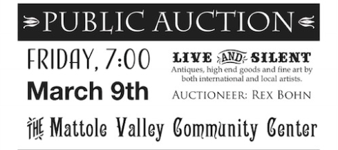 art auction fundraiser Petrolia