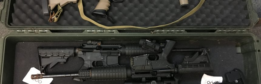 Firearms found on Van Duzen River bar