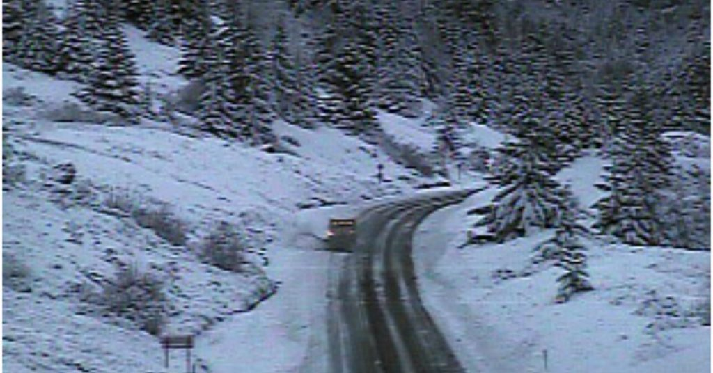 Snowplow on Berry Summit