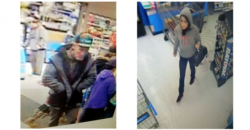 Suspects in a robbery