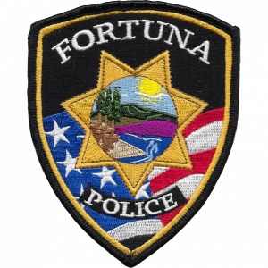 Fortuna Police Badge.