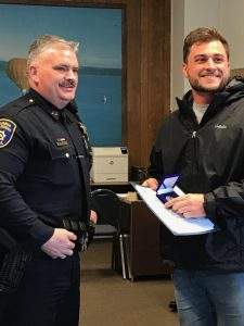 EPD awards citizens Eureka Police Brian Stephens