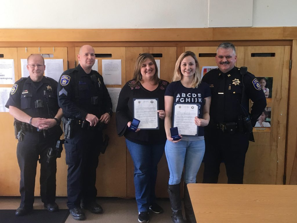 EPD awards citizens Eureka Police