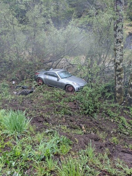 350z in an accident