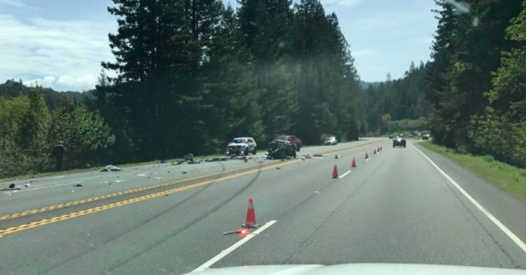 UPDATE 4:02 p m :101 Reopened] Fatal Accident Near Salmon Creek on